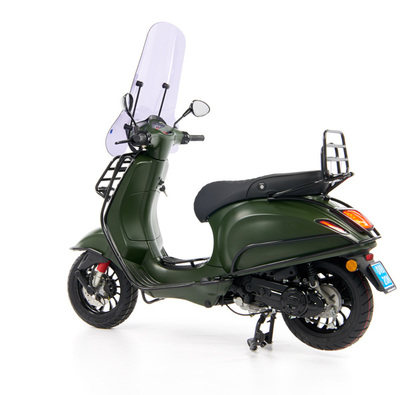 Vespa Sprint 50 - Custom Full Option - EURO5 • Mat Groen  (65)