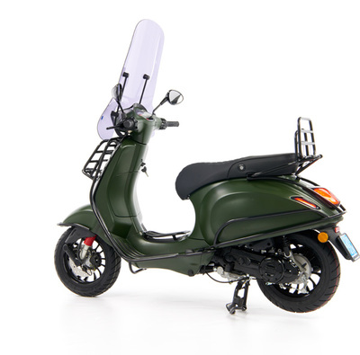 Vespa Sprint 50 - Custom Full Option - EURO5 • Mat Groen  (66)