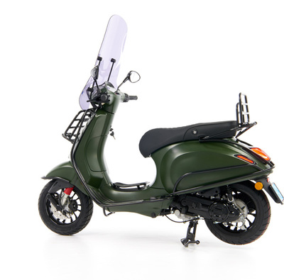 Vespa Sprint 50 - Custom Full Option - EURO5 • Mat Groen  (67)