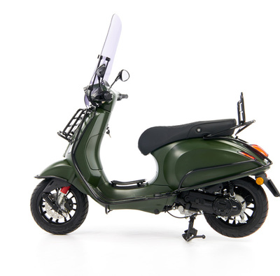Vespa Sprint 50 - Custom Full Option - EURO5 • Mat Groen  (69)