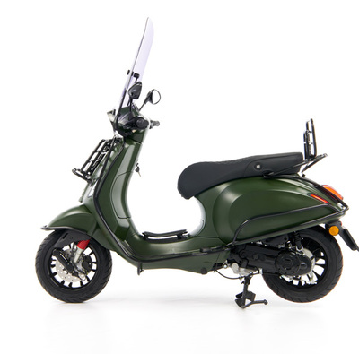Vespa Sprint 50 - Custom Full Option - EURO5 • Mat Groen  (70)
