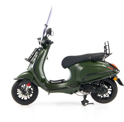 Vespa Sprint 50 - Custom Full Option - EURO5 • Mat Groen  (71)