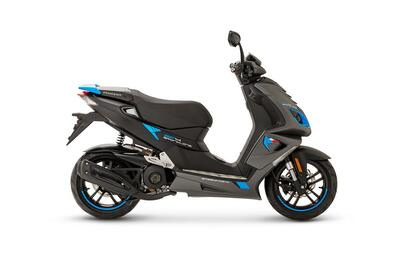 Peugeot Speedfight 4 • Mad Grey / Blue (3)