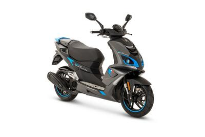 Peugeot Speedfight 4 • Mad Grey / Blue (4)