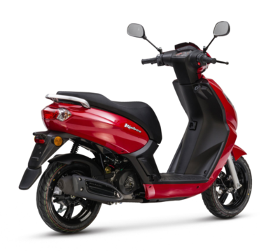 Peugeot Kisbee Active E5 • Cherry Red (2)
