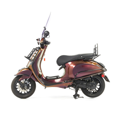 Vespa Sprint 50 - Custom Full Option - EURO5 • Magenta to Gold (2)