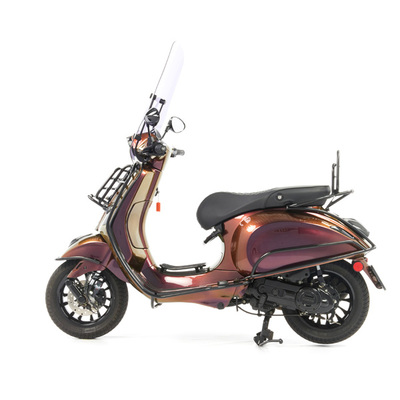 Vespa Sprint 50 - Custom Full Option - EURO5 • Magenta to Gold (4)