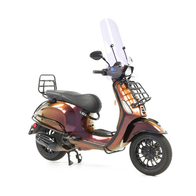 Vespa Sprint 50 - Custom Full Option - EURO5 • Magenta to Gold (45)