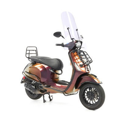 Vespa Sprint 50 - Custom Full Option - EURO5 • Magenta to Gold (46)