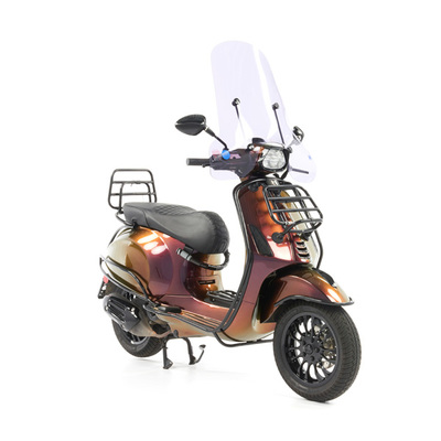 Vespa Sprint 50 - Custom Full Option - EURO5 • Magenta to Gold (48)