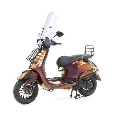 Vespa Sprint 50 - Custom Full Option - EURO5 • Magenta to Gold (67)
