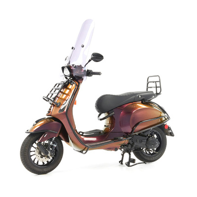 Vespa Sprint 50 - Custom Full Option - EURO5 • Magenta to Gold (68)