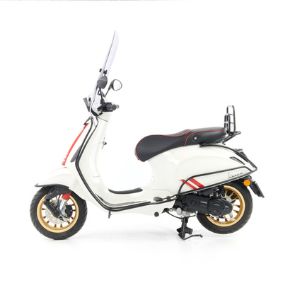 Vespa Sprint S 50 - Full Option  - EURO5 • Racing Sixties Wit (2)