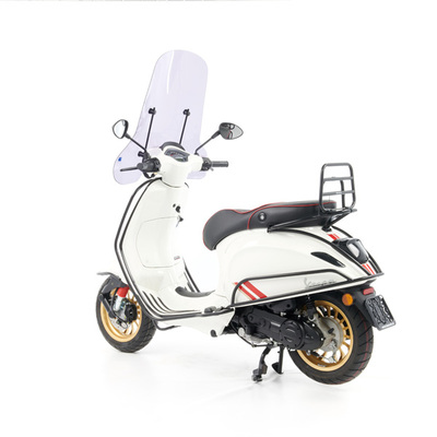 Vespa Sprint S 50 - Full Option  - EURO5 • Racing Sixties Wit (3)