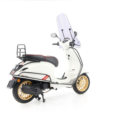 Vespa Sprint S 50 - Full Option  - EURO5 • Racing Sixties Wit (5)