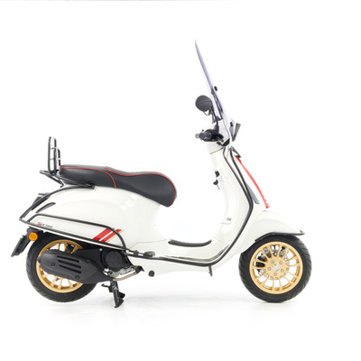 Vespa Sprint S 50 - Full Option  - EURO5 • Racing Sixties Wit (6)