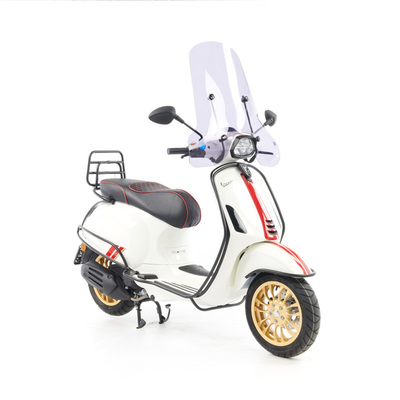 Vespa Sprint S 50 - Full Option  - EURO5 • Racing Sixties Wit (7)