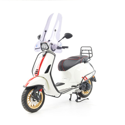 Vespa Sprint S 50 - Full Option  - EURO5 • Racing Sixties Wit (1)