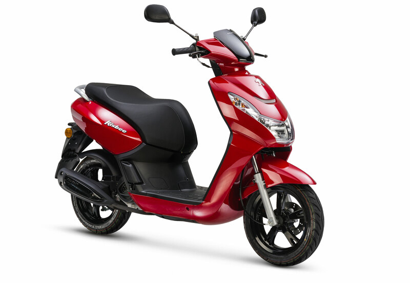 Peugeot Kisbee Active • Cherry Red